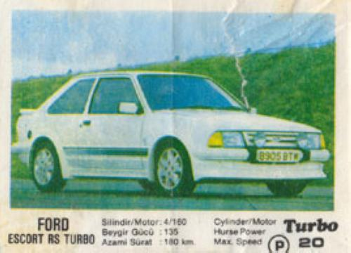 Turbo № 020: Ford Escort RS Turbo