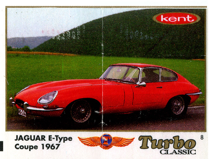 Turbo Classic № 008: Jaguar E-type Coupe
