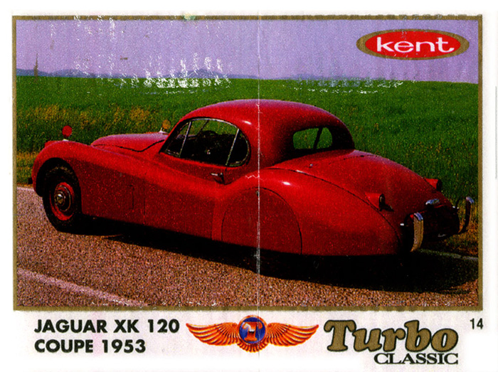 Turbo Classic № 014: Jaguar XK 120 Coupe