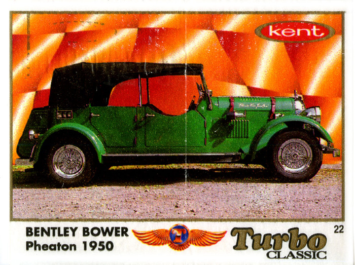 Turbo Classic № 022: Bentley Bower Pheaton