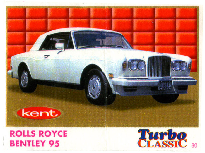 Turbo Classic 2 № 080: Rolls Royce Bentley 95