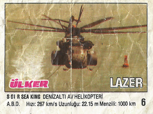 Lazer № 06: S 61 R Sea King