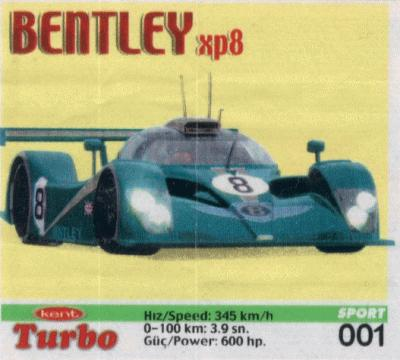 Turbo Sport № 01: Bentley XP 8