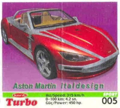 Turbo Sport № 05: Aston Martin Italdesign